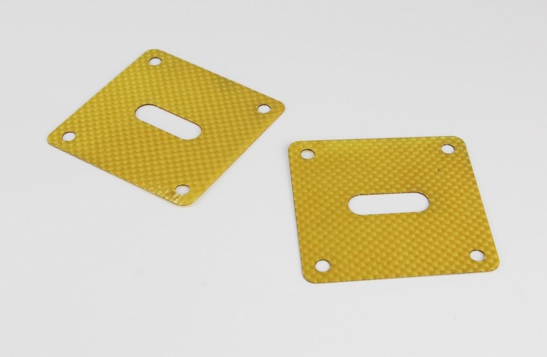 חיתוך בלייזר של חלקים הנדסיים מיריעת חומר מרוכב