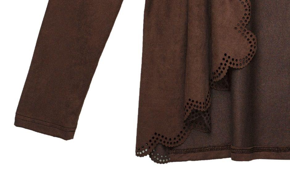 חיתוך של בד בלייזר לתחום האופנה (עיצוב: סטודיו שיק)