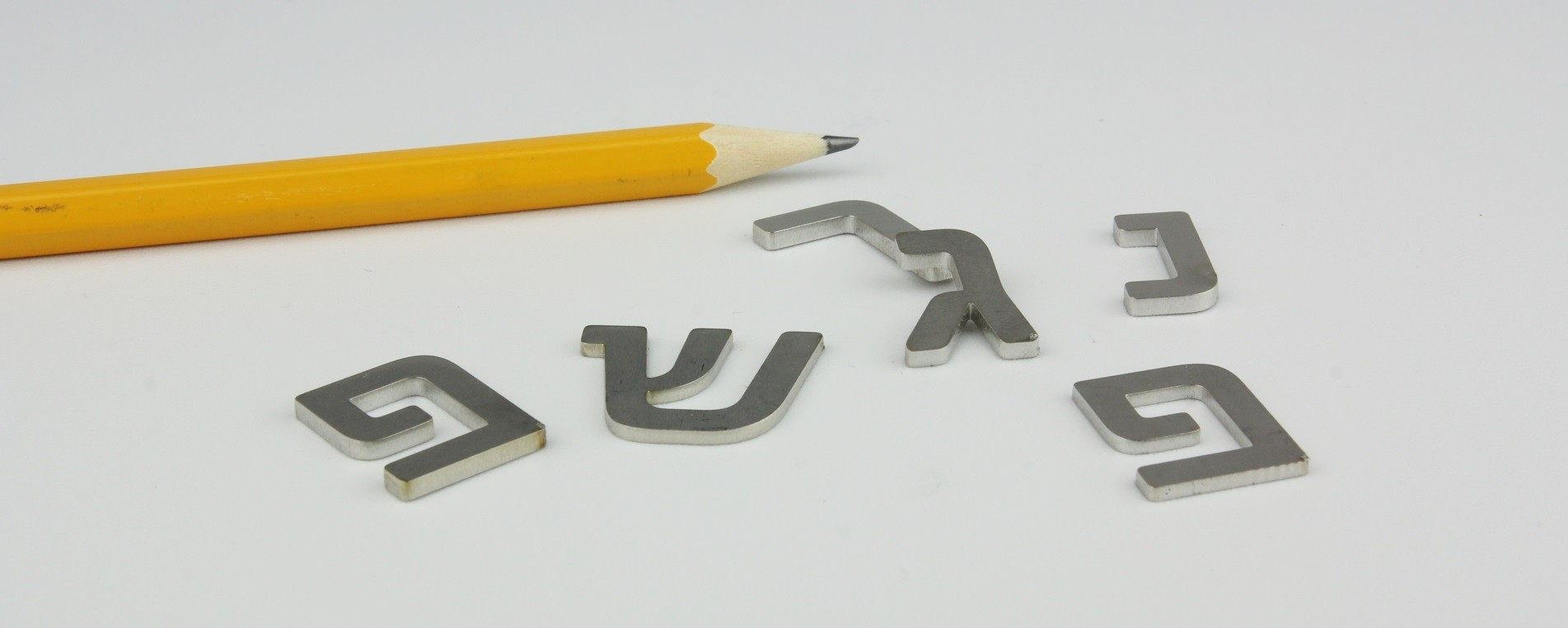 Laser cutting of 1.5mm stainless steel letters